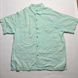 Tommy Bahama 100% silk button up
